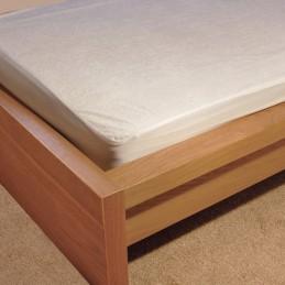 Housse de matelas imperméable et Anti-Acariens et Anti-Bactérien - pour lit simple