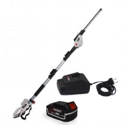 Scie à Ebrancher Taille Haies sur perche 20V - Xperformer XP2PSTH20LI - Outil portatif - Batterie 4 Ah et chargeur inclus