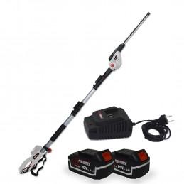 Scie à Ebrancher Taille Haies sur perche 20V - Xperformer XP2PSTH20LI - Outil portatif -  2 Batteries 4Ah et chargeur inclus