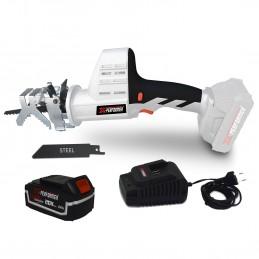 Scie a Ebrancher Portative 20V - Coupe BOIS et METAL -2700 T-min - Xperformer XPCBR20LI - Batterie 4Ah et chargeur inclus