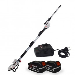 Scie à Ebrancher Taille Haies sur perche 20V Xperformer XP2PSTH20LI - Outil portatif 2 Batteries 4Ah et DOUBLE chargeur inclus