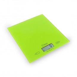 Balance culinaire KKS-1122 vert - Capacité 5kg - Ecran  LCD - Tare