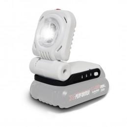 Lampe de travail - Bricolage - Jardinage à batterie 20V - X-Performer XPSPL20LI - LED 3W -  sans batterie ni chargeur