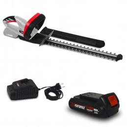 Taille haies rechargeable 20V à batterie X-Performer XPTH20LI + Batterie 2 Ah et chargeur - Cache de protection pour ...