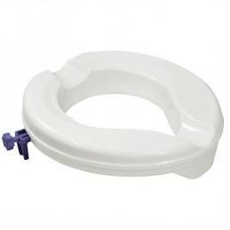 Siège de toilette surélevé en plastique Senator