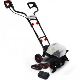 Motobineuse 40V - X-Performer XPMTBE20LI - Larg. de travail 35cm - 4 fraises - 2x BATTERIES XPBAT2A Inclus - Sans cha...