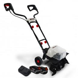 Motobineuse 40V - X-Performer XPMTBE20LI - Larg. de travail 35cm - 4 fraises - 2x BATTERIES XPBAT4A Inclus - Sans cha...