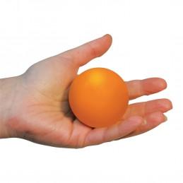 Boule de compression en mousse - balle anti-stress - orange
