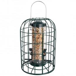 Mangeoire de jardin à oiseaux résistante aux écureuils