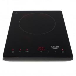 Plaque à Induction Adler AD 6513 - 2000 W - Affichage LCD - 190 mm