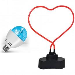 Neon Lamp heart shape +...