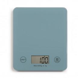 Balance de cuisine électronique bleue DOM351BS - Capacité 5 kg - ml ou g