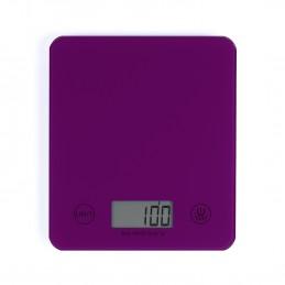 Balance de cuisine électronique violette DOM351VI - Capacité 5 kg - ml ou g