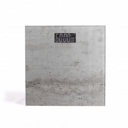 Pèse-personne électronique Livoo DOM382BE impression béton - précision 100g - Capacité 180kg