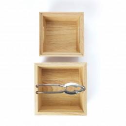 Set casse-noix Livoo MEN346A + 2 bols en bois - Casse noix, noisettes, amandes ou autre