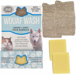 Soap + glove bio Woof Wash...