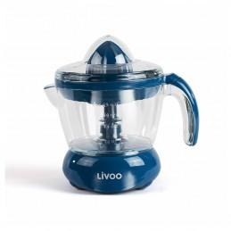 Presse-Agrumes Électrique - Pour jus d'orange, citron et autres agrumes - Rotation Double Sens - 25 W, Bleu