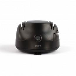 Aiguiseur à couteaux électrique Livoo DOM394 - 2 meule pour aiguisage doux ou fort