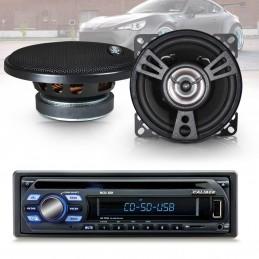 Pack Autoradio Caliber RCD122 75W x 4  +  2 haut parleurs de 100W XSound