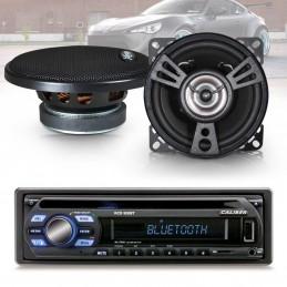 Pack Autoradio Caliber RCD122BT 75W x 4 - Bluetooth + 2 haut parleurs de 100W XSound