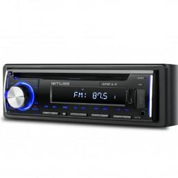 Autoradio Muse M-1229 DAB 160 Watts  - DAB+/FM RDS - USB, SD/MMC/ AUX 4 X 40 Watts