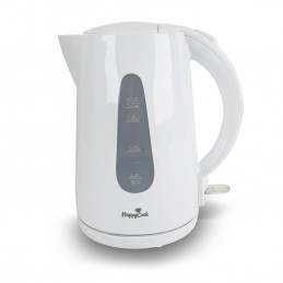 Bouilloire Telefunken happy cook blanche avec filtre amovible - 1,7L - 2200W