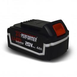 Batterie CONCEPT 20V Lithium 4 Ah compatible pour la gamme d'outils X-PERFORMER
