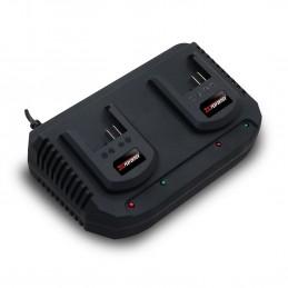 Double chargeur pour batteries X-Performer 20V XPBAT2A et XPBAT4A