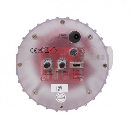 Lot de 2 LED Moonflower - Boîtier Transparent -   2 Lentilles / 114 LED