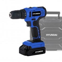 Perceuse Visseuse - HYUNDAI HPVD16V - sans fil 16V 25NM avec coffret BMC - sans batterie ni chargeur