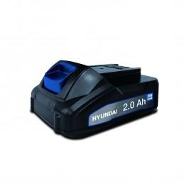 Batterie pour outil électroportatif - HYUNDAI HBA20U2 - 20V - Lithium 2Ah - compatible avec tous les outils de la gam...