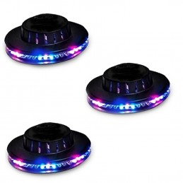 Lot de 3 Eclairages LED...