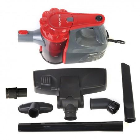 Aspirateur Triomph ETF1833 balai sans sac 2 en 1 - Aspirateur à main intégré - technologie cyclonique, filtre lavable - 600W