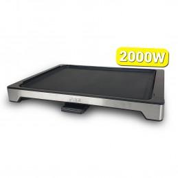 Plancha grill électrique pro 47 cm - 2000W