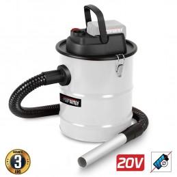 Vide Cendre motorisé 20V - Vide poussière, Bois, Barbecue - Xperformer XPABIDON20-12L - Outil seul sans batterie ni chargeur