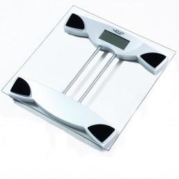 Pèse personne Adler AD8124 - Charge max 150 kg - Verre trempé - Précision 100g