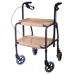 Adjustable trolley height...