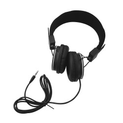 Stereo Headphones - Black -...