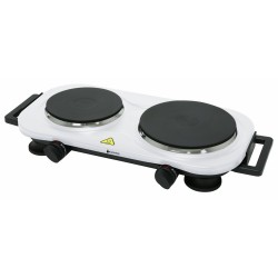 Hob 2 burners - White -...
