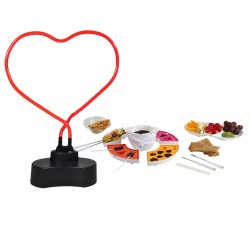 UV lamp forms heart + and...