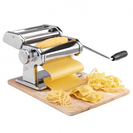 manual pasta machine - 3 types of pasta / 9 sizes thicknesses - PEM MP-200