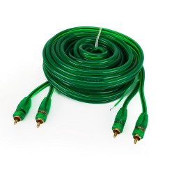 RCA cable - 5.2 m - double...