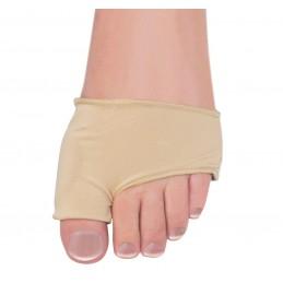 Manchon elastique Aidapt avec rembourrage en gel pour Oignon du pied